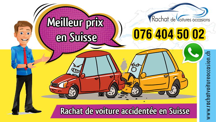 rachat voiture occasion accidentée